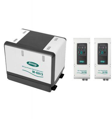 dc generator 24v 48v 300a 150a wet exhaust